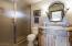 Lower level en-suite bath