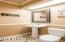 Downstairs bathroom w/ shower
