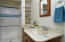 Well maintained, and well loved! A new vanity would transform this bathroom.