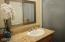 One of two guest bathroms