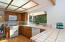 Spacious kitchen between the Dining Room and Family Room
