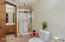Stand-up shower in spacious Master Bathroom