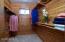 Cedar lined walk-in closet.