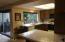 Everything centers around the kitchen....