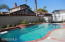 Sparkling Swimming pool with large deck area & fully fenced too!
