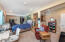 Basement unit living room- huge income potential. Private entrance & parking.