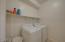 Spacious Laundry room upstairs