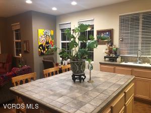 Informal Dining Area Inside Kitchen