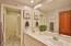 Hall Bath - New Tile Flooring!