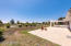 Huge flat backyard- room for tennis, pool, large garden!