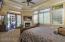Master suite opens to Loggia
