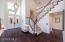 Refinished wood flooring