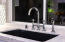 Blanco sink and Rohl Italian faucet.