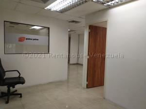 Oficina En Alquileren Caracas, Plaza Venezuela, Venezuela, VE RAH: 21-12490