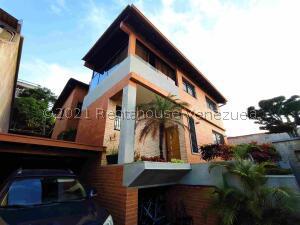 Casa En Ventaen Caracas, Los Naranjos Del Cafetal, Venezuela, VE RAH: 21-25213