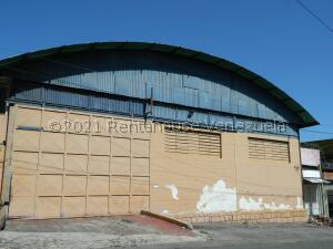 Galpon - Deposito En Alquileren Los Teques, Club Hipico, Venezuela, VE RAH: 21-27321