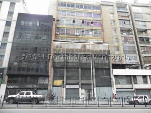 Oficina En Ventaen Caracas, Parroquia Catedral, Venezuela, VE RAH: 22-5166