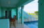 Located on the lower level pool deck - keeps cold beverages and snacks close for comfort!