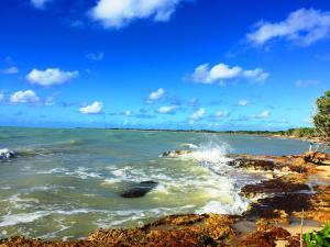 Beautiful Caribbean waterfront lot in peaceful development.