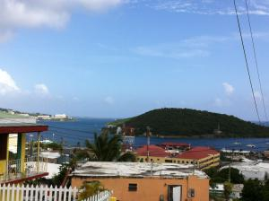 View to Charlotte Amalie Harbor