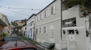 Renovated to preserve the historic look of this historic district, the building is just steps from main Street Charlotte Amalie