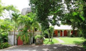 Sugar Mill main residence (1BR/1.5 BA) with Hura residence (2BR/1BA)