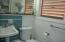 full bath w/ shower for studio apt