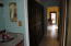Hallway to guest bedroom suite
