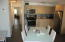 Spacious kitchen /living/dining