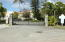 Gated entry to Sapphire Bay West Condominium