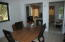 Apartment dining and kitchen