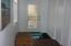 Bedroom 2 dressing area with door also to courtyard