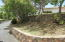 curved walls and landscaping