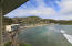View from gallery and kitchen to Bolongo Bay and beach
