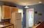 Kitchen looking toward bedroom 2