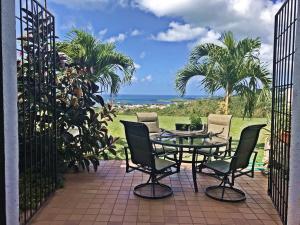 Dine alfresco on your private patio