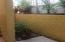 Large private patio and little garden
