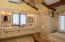 Large, air conditioned bath w/ jacuzzi tub