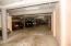 Lower level parking garage
