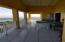 Main level covered gallery with HUGE views of water and cays