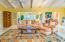 Spacious and homey Living Room with easy access to 3rd Bedroom/Office and open Dining Room