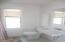 Full bathroom in efficiency apartment
