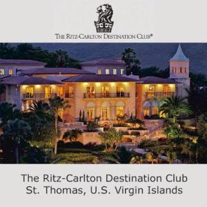 All photos taken from the Internet site for Ritz Carlton Destination Club St Thomas