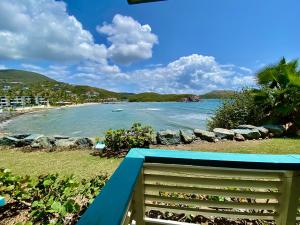 enjoy this magnificent view of Bolongo Bay each day