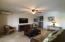 Expansive lounge area