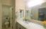 Bathroom 2 beautifully upgraded boasting walk in closet/storage room