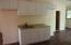 Kitchen in the studio apartment