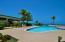 Hilltop pool and cabana