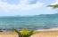 Sandy beach with Buck Island view