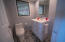 Half bath off of main living area